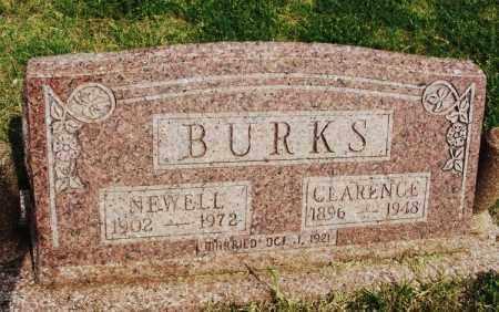 BURKS, CLARENCE - Beckham County, Oklahoma | CLARENCE BURKS - Oklahoma Gravestone Photos