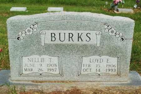 BURKS, LOYD E - Beckham County, Oklahoma | LOYD E BURKS - Oklahoma Gravestone Photos
