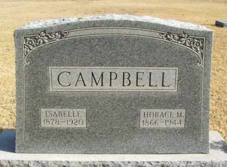 CAMPBELL, ISABELLE - Beckham County, Oklahoma | ISABELLE CAMPBELL - Oklahoma Gravestone Photos
