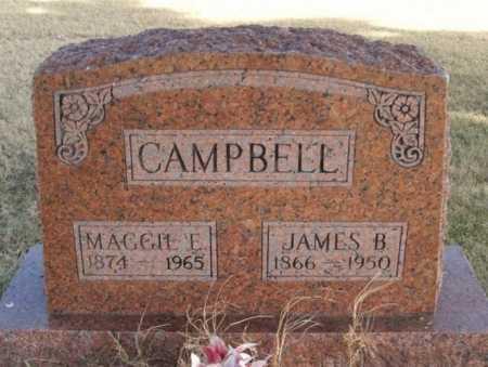 CAMPBELL, JAMES B - Beckham County, Oklahoma | JAMES B CAMPBELL - Oklahoma Gravestone Photos