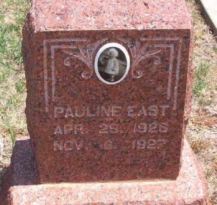 EAST, PAULINE - Beckham County, Oklahoma | PAULINE EAST - Oklahoma Gravestone Photos