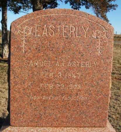 EASTERLY, SAMUEL A - Beckham County, Oklahoma | SAMUEL A EASTERLY - Oklahoma Gravestone Photos