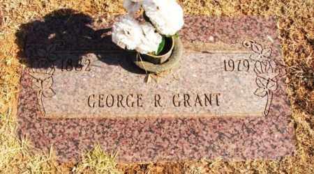 GRANT, GEORGE R - Beckham County, Oklahoma | GEORGE R GRANT - Oklahoma Gravestone Photos