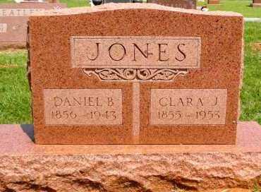 PECK JONES, CLARA JANE - Beckham County, Oklahoma | CLARA JANE PECK JONES - Oklahoma Gravestone Photos