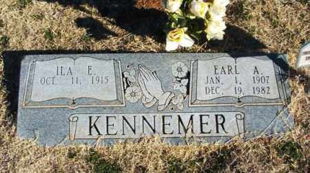 KENNEMER, EARL ALFRED - Beckham County, Oklahoma | EARL ALFRED KENNEMER - Oklahoma Gravestone Photos