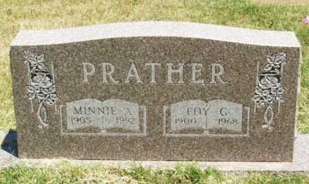 PRATHER, FOY G - Beckham County, Oklahoma | FOY G PRATHER - Oklahoma Gravestone Photos