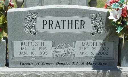 PRATHER, RUFUS H - Beckham County, Oklahoma   RUFUS H PRATHER - Oklahoma Gravestone Photos
