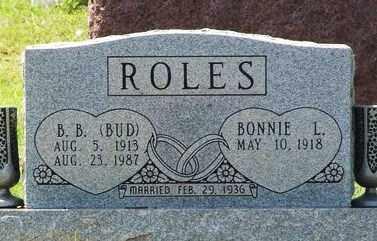 ROLES, BONNIE L - Beckham County, Oklahoma   BONNIE L ROLES - Oklahoma Gravestone Photos