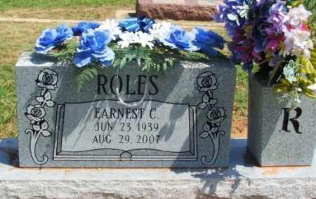 ROLES, EARNEST C - Beckham County, Oklahoma | EARNEST C ROLES - Oklahoma Gravestone Photos