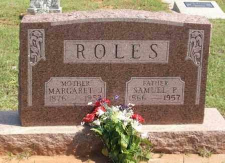 ROLES, MARGARET J - Beckham County, Oklahoma | MARGARET J ROLES - Oklahoma Gravestone Photos