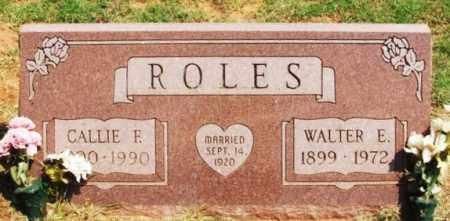 ROLES, WALTER E - Beckham County, Oklahoma   WALTER E ROLES - Oklahoma Gravestone Photos