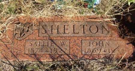 SHELTON, SALLIE WINSTON - Beckham County, Oklahoma | SALLIE WINSTON SHELTON - Oklahoma Gravestone Photos