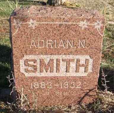 SMITH, ADRIAN N - Beckham County, Oklahoma | ADRIAN N SMITH - Oklahoma Gravestone Photos