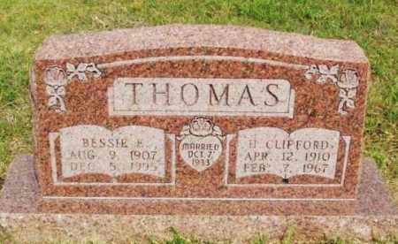 THOMAS, BESSIE E - Beckham County, Oklahoma | BESSIE E THOMAS - Oklahoma Gravestone Photos