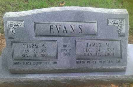 EVANS, JAMES MILTON - Bryan County, Oklahoma | JAMES MILTON EVANS - Oklahoma Gravestone Photos