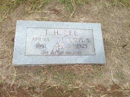 LEE, T. H. - Bryan County, Oklahoma   T. H. LEE - Oklahoma Gravestone Photos