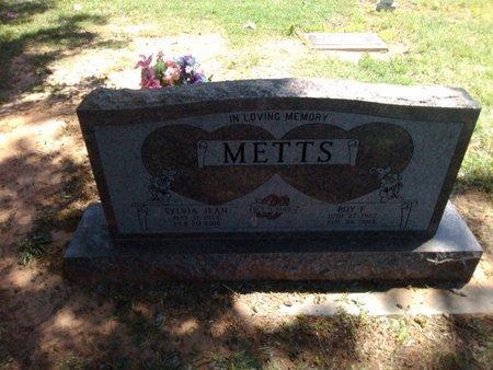 METTS, ROY E. - Bryan County, Oklahoma | ROY E. METTS - Oklahoma Gravestone Photos