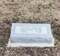 WHITE, EASTER CAROLINE - Bryan County, Oklahoma | EASTER CAROLINE WHITE - Oklahoma Gravestone Photos
