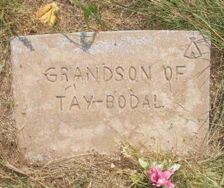 TAY BODAL, GRANDSON - Caddo County, Oklahoma | GRANDSON TAY BODAL - Oklahoma Gravestone Photos