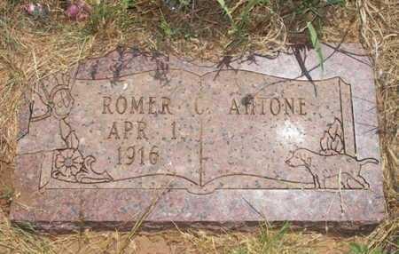 AHTONE, ROMER C - Caddo County, Oklahoma   ROMER C AHTONE - Oklahoma Gravestone Photos