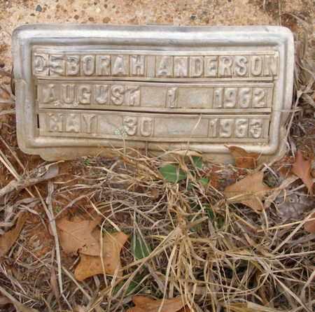 ANDERSON, DEBORAH - Caddo County, Oklahoma | DEBORAH ANDERSON - Oklahoma Gravestone Photos