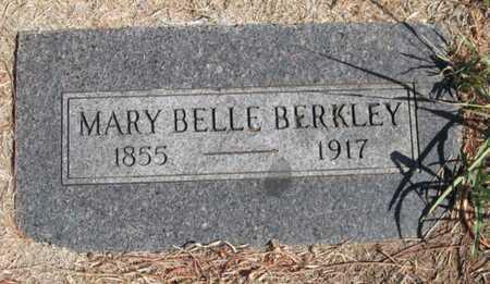 BERKLEY, MARY BELL - Caddo County, Oklahoma | MARY BELL BERKLEY - Oklahoma Gravestone Photos