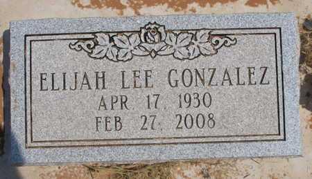 GONZALEZ, ELIJAH LEE - Caddo County, Oklahoma | ELIJAH LEE GONZALEZ - Oklahoma Gravestone Photos
