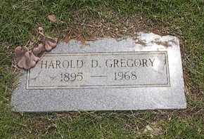GREGORY, HAROLD D. - Caddo County, Oklahoma | HAROLD D. GREGORY - Oklahoma Gravestone Photos
