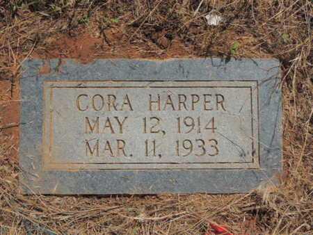 HARPER, CORA - Caddo County, Oklahoma | CORA HARPER - Oklahoma Gravestone Photos
