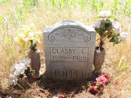 HOPPER, CLASBY - Caddo County, Oklahoma | CLASBY HOPPER - Oklahoma Gravestone Photos
