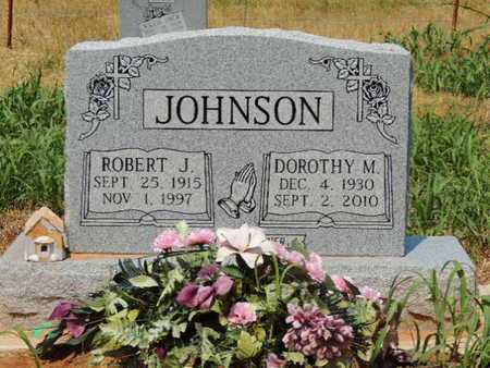 JOHNSON, ROBERT J - Caddo County, Oklahoma | ROBERT J JOHNSON - Oklahoma Gravestone Photos