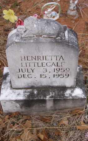 LITTLECALF, HENRIETTA - Caddo County, Oklahoma   HENRIETTA LITTLECALF - Oklahoma Gravestone Photos