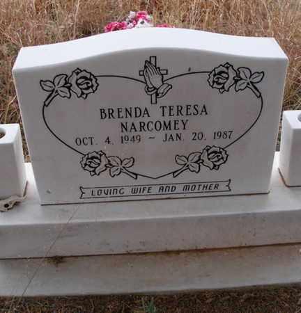 NARCOMEY, BRENDA TERESA - Caddo County, Oklahoma | BRENDA TERESA NARCOMEY - Oklahoma Gravestone Photos