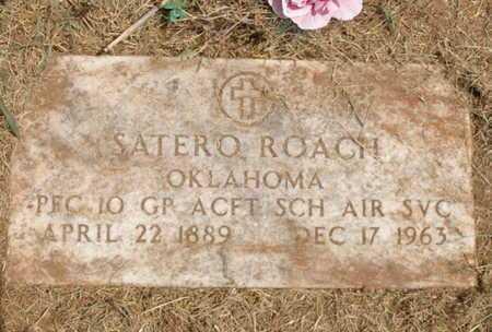 ROACH (VETERAN WWII), SATERO - Caddo County, Oklahoma | SATERO ROACH (VETERAN WWII) - Oklahoma Gravestone Photos