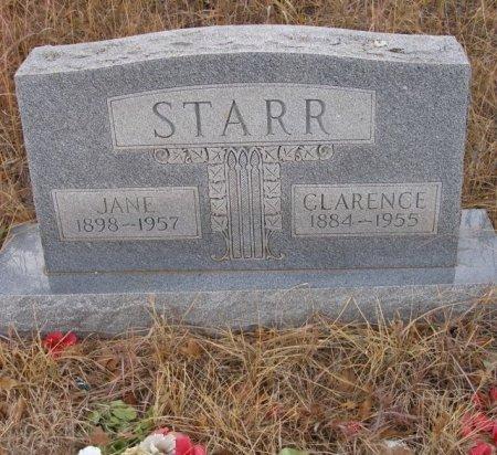 STARR, CLARENCE - Caddo County, Oklahoma | CLARENCE STARR - Oklahoma Gravestone Photos