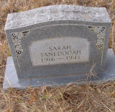 TANEDOOAH, SARAH - Caddo County, Oklahoma | SARAH TANEDOOAH - Oklahoma Gravestone Photos
