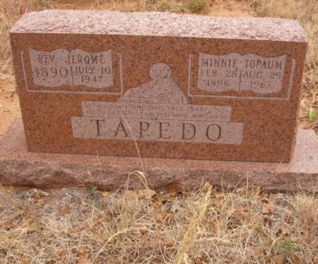TAPEDO, MINNIE - Caddo County, Oklahoma   MINNIE TAPEDO - Oklahoma Gravestone Photos