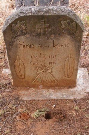 TAPEDO, SUSIE - Caddo County, Oklahoma | SUSIE TAPEDO - Oklahoma Gravestone Photos
