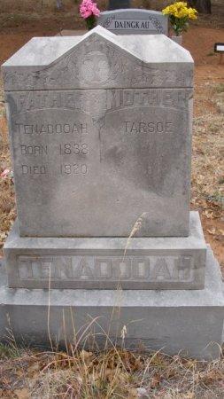 TENADOOAH, . - Caddo County, Oklahoma   . TENADOOAH - Oklahoma Gravestone Photos