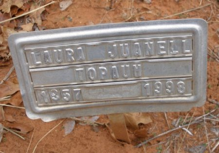 TOPAUM, LAURA JUANELL - Caddo County, Oklahoma   LAURA JUANELL TOPAUM - Oklahoma Gravestone Photos