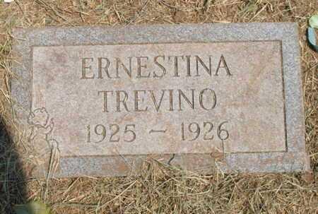 TREVINO, ERNESTINA - Caddo County, Oklahoma | ERNESTINA TREVINO - Oklahoma Gravestone Photos