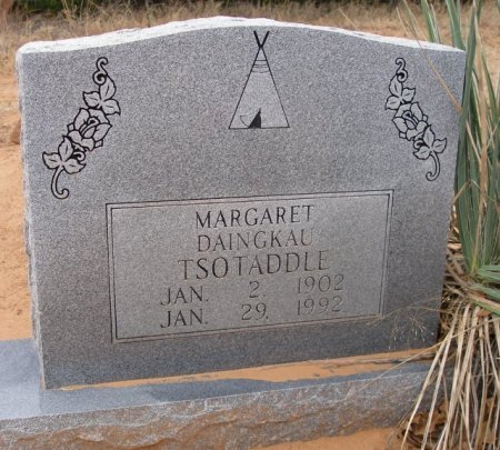 TSOTADDLE, MARGARET - Caddo County, Oklahoma | MARGARET TSOTADDLE - Oklahoma Gravestone Photos