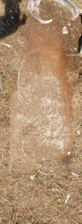 UNKNOWN, UNKNOWN - Caddo County, Oklahoma | UNKNOWN UNKNOWN - Oklahoma Gravestone Photos