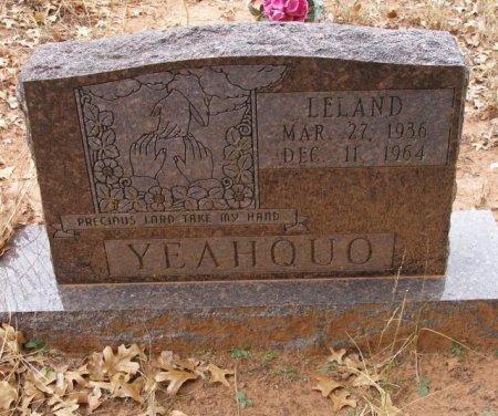 YEAHQUO, LELAND - Caddo County, Oklahoma   LELAND YEAHQUO - Oklahoma Gravestone Photos