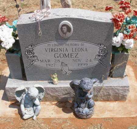 GOMEZ, VIRGINIA LEONA - Caddo County, Oklahoma | VIRGINIA LEONA GOMEZ - Oklahoma Gravestone Photos