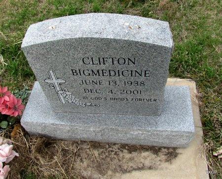BIGMEDICINE, CLIFTON - Canadian County, Oklahoma | CLIFTON BIGMEDICINE - Oklahoma Gravestone Photos