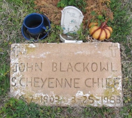 BLACKOWL, JOHN - Canadian County, Oklahoma | JOHN BLACKOWL - Oklahoma Gravestone Photos