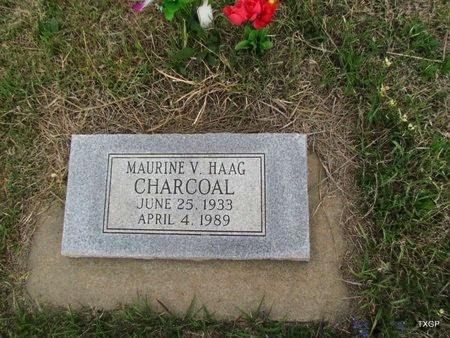 HAGG CHARCOAL, MAURINE V - Canadian County, Oklahoma | MAURINE V HAGG CHARCOAL - Oklahoma Gravestone Photos