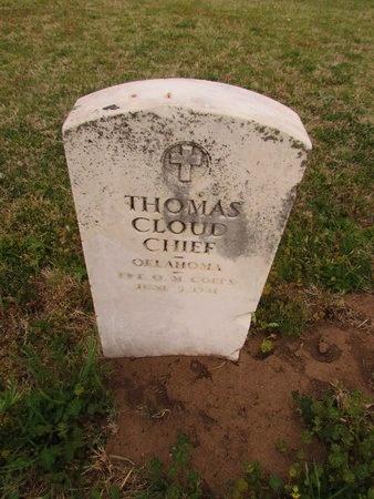 CLOUDCHIEF (VETERAN WWLL), THOMAS - Canadian County, Oklahoma | THOMAS CLOUDCHIEF (VETERAN WWLL) - Oklahoma Gravestone Photos