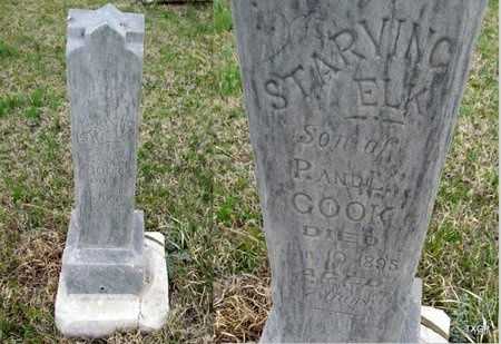 COOK, STARVING ELK - Canadian County, Oklahoma   STARVING ELK COOK - Oklahoma Gravestone Photos